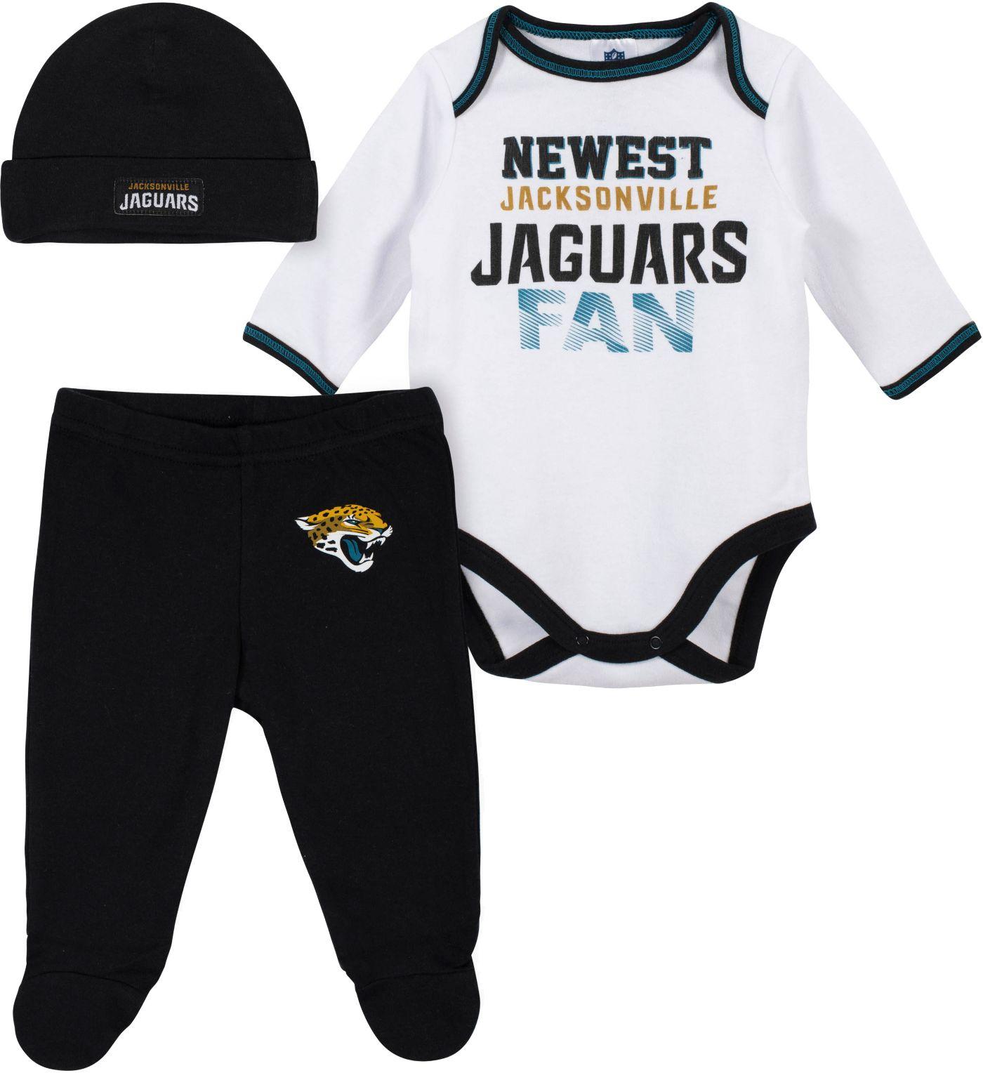 Gerber Infant Jacksonville Jaguars Onesie Footed Pants Set