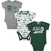Gerber Infant New York Jets Onesie 3-Pack Bodysuit