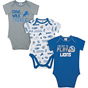 Gerber Infant Detroit Lions Onesie 3-Pack Bodysuit
