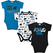Gerber Infant Carolina Panthers Onesie 3-Pack Bodysuit