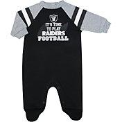 Gerber Infant Las Vegas Raiders Sleep N' Play Bodysuit