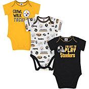 Gerber Infant Pittsburgh Steelers Onesie 3-Pack Bodysuit