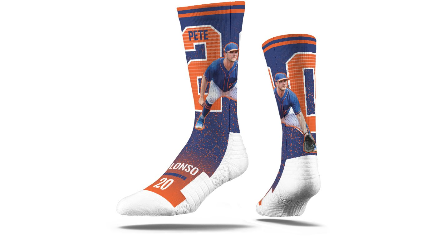 Strideline New York Mets Pete Alonso Blue Crew Socks