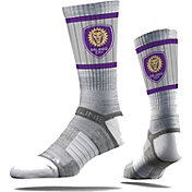 Strideline Orlando City Gray Crew Socks