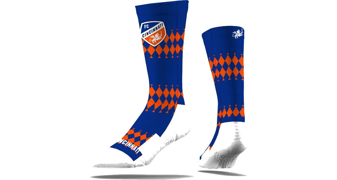 Strideline FC Cincinnati Royal Crew Socks