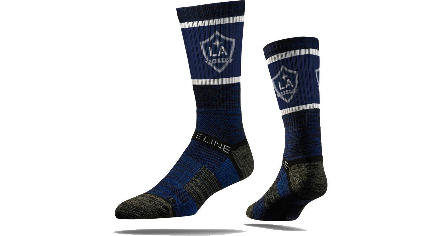 Strideline Los Angeles Galaxy Navy Crew Socks
