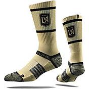 Strideline Los Angeles FC Tan Crew Socks