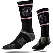 Strideline Inter Miami CF Full Sub Black Crew Socks