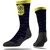 Strideline Nashville Soccer Club Black Comfy Socks