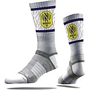 Strideline Nashville Soccer Club Gray Crew Socks