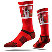 Strideline Los Angeles Clippers Kawhi Leonard Red Crew Socks
