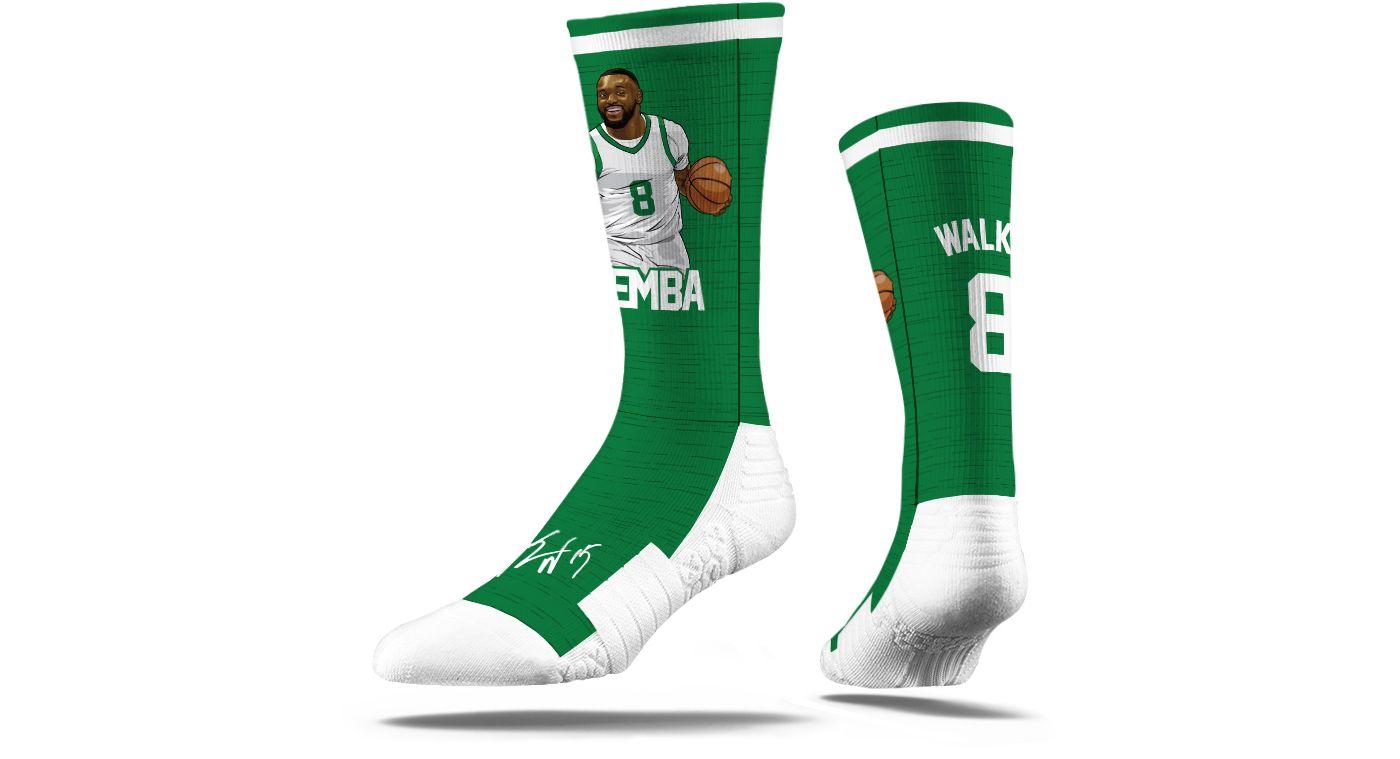 Strideline Boston Celtics Kemba Walker Comfy Green Crew Socks