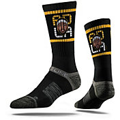 Strideline Los Angeles Lakers Anthony Davis Black Crew Socks