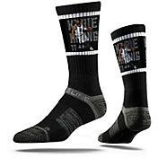Strideline Brooklyn Nets Kyrie Irving Dunk Black Crew Socks