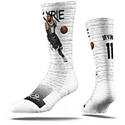 Strideline Brooklyn Nets Kyrie Irving White Crew Socks