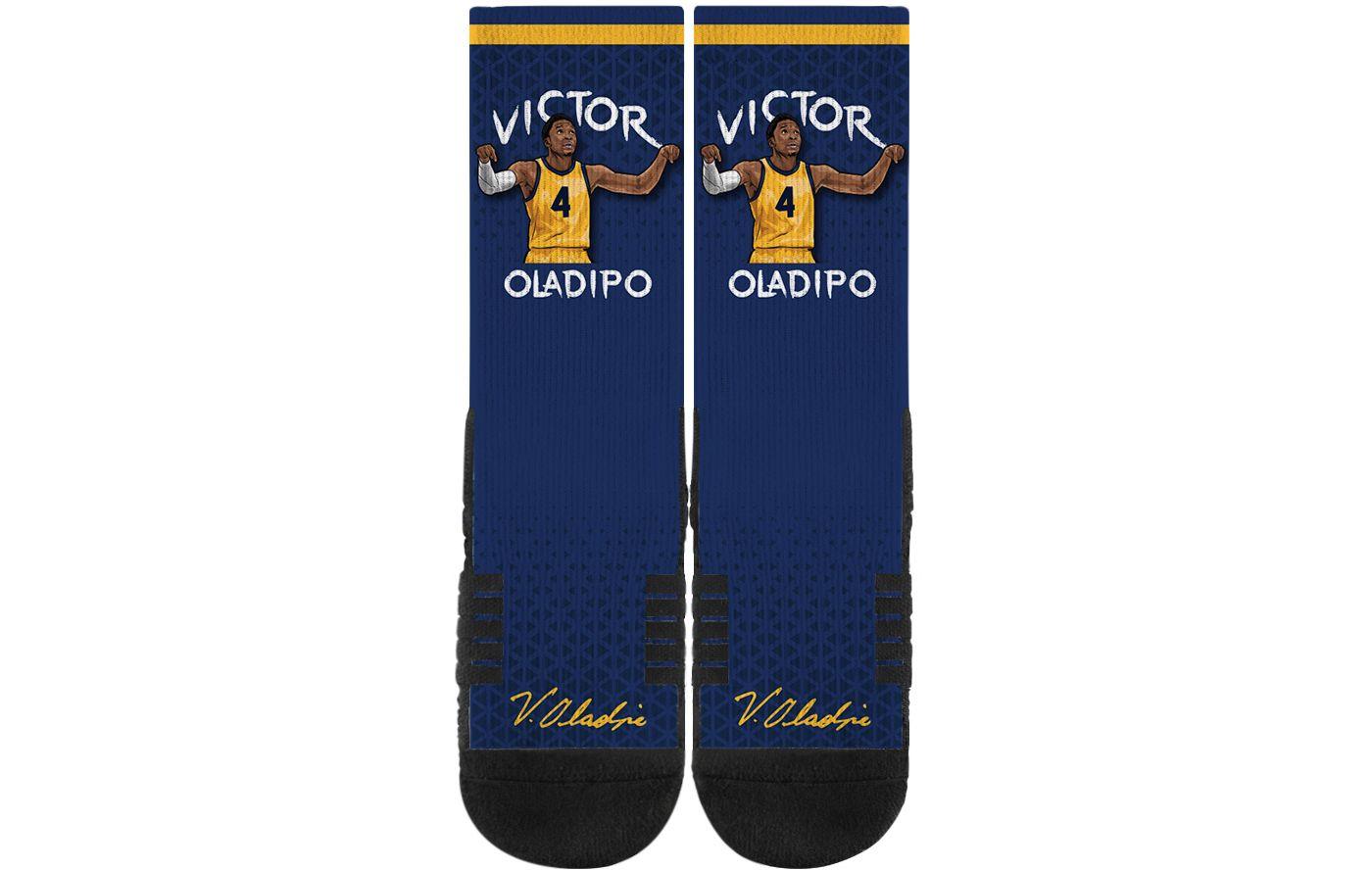 Strideline Indiana Pacers Victor Oladipo Crew Socks