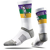 Strideline New Orleans Pelicans Zion Williamson Dunk White Crew Socks