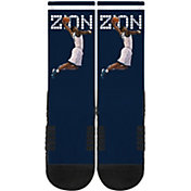 Strideline New Orleans Pelicans Zion Williamson Dunk Navy Crew Socks