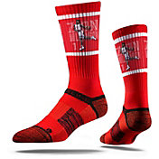 Strideline New Orleans Pelicans Zion Williamson Dunk Red Crew Socks
