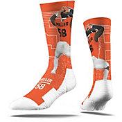 Strideline Denver Broncos Von Miller Crew Socks