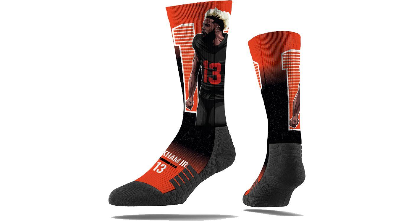 Stance Cleveland Browns Odell Beckham Jr. Portrait Socks