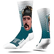 Strideline Jacksonville Jaguars Gardner Minshew Big Face Crew Socks
