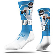 Strideline Carolina Panthers Cam Newton Crew Socks