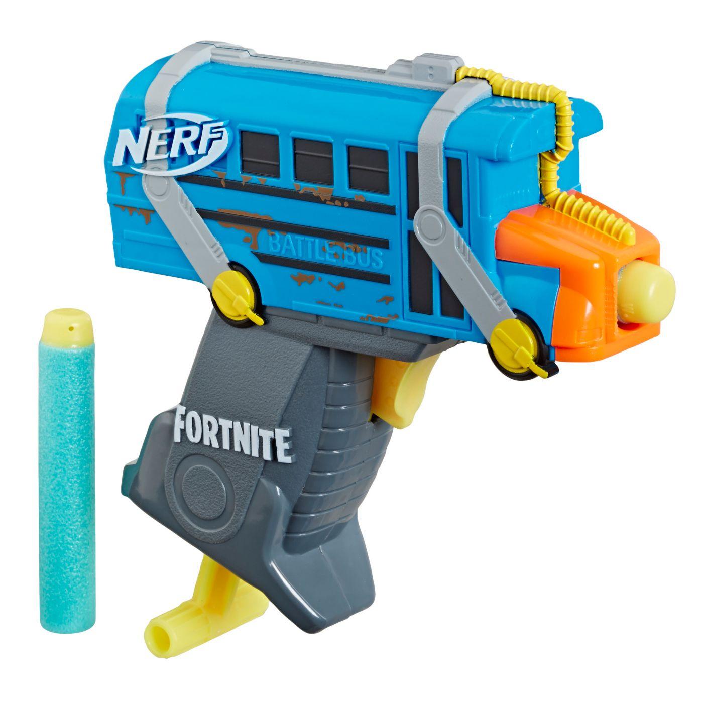 Nerf MicroShots Fortnite Bus Blaster