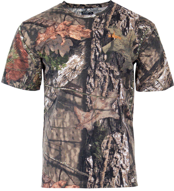 Habit Men's Bear Cave Camo Short Sleeve Hunting T-Shirt