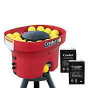 Heater Crusher Curve Mini Lite-Ball Pitching Machine w/ 8-Hour Battery