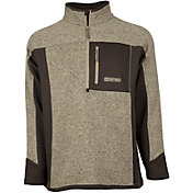 HEYBO Men's Cabin ¼ Zip Fleece Pullover