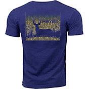 Heybo Men's Deer Silhouette T-Shirt