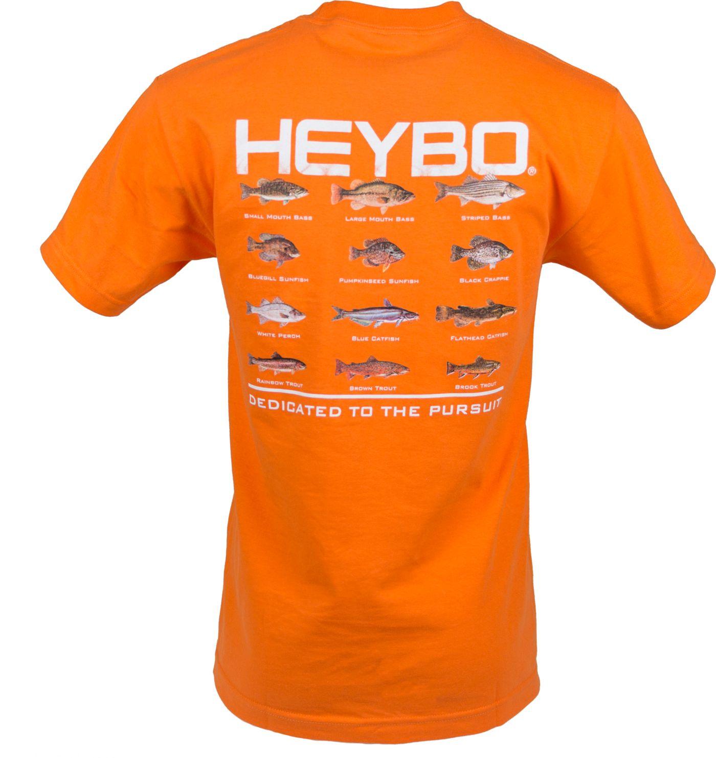 Heybo Men's Freshwater Fish Chart T-Shirt
