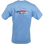 Heybo Men's American Marlin Short Sleeve T-Shirt