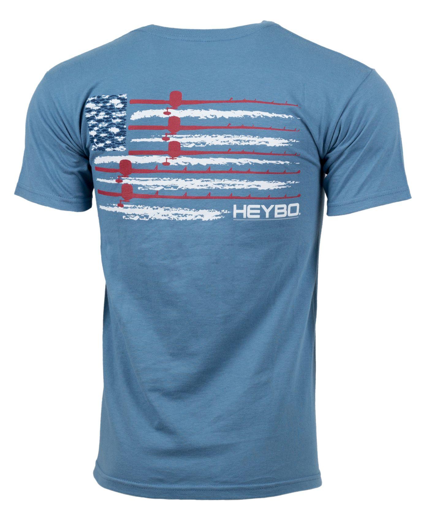Heybo Men's USA Flag T-Shirt