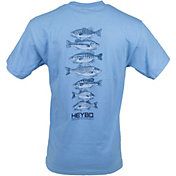 HEYBO Men's Stack Of Bass T-Shirt