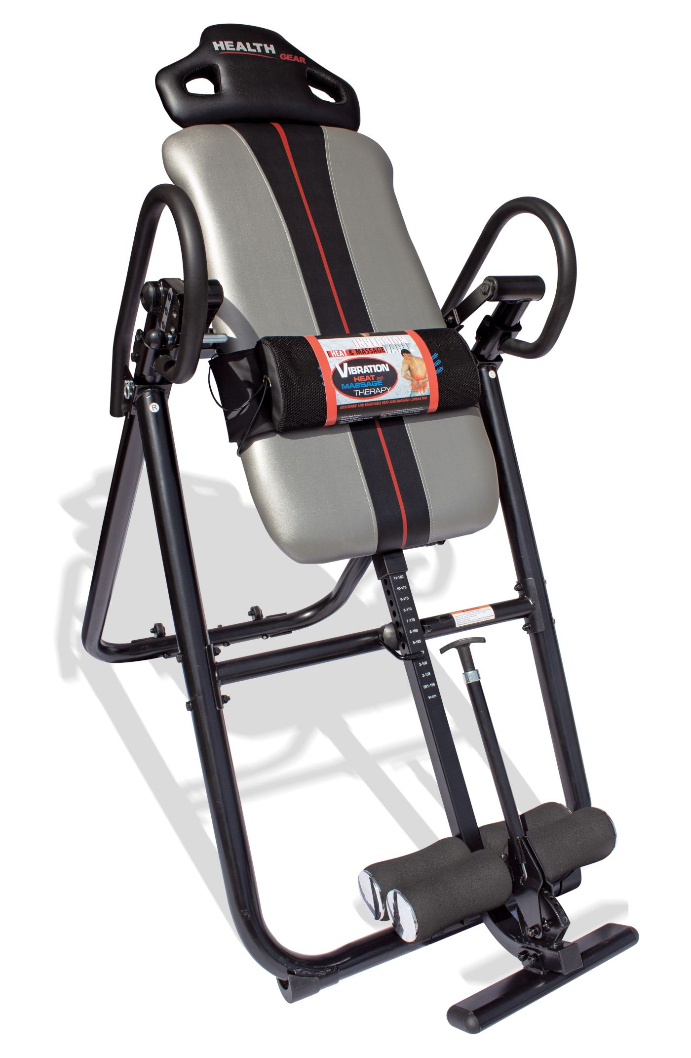 Health Gear Deluxe 4.0 Heat and Massage Inversion Table