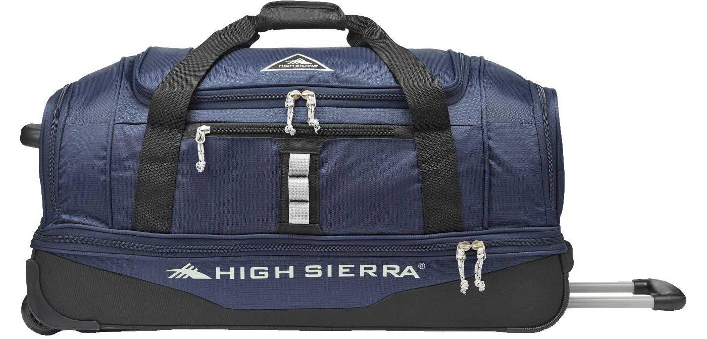 """High Sierra Pathway 28"""" Drop Bottom Rolling Duffel"""