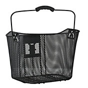 Schwinn Signature Steel Mesh Bike Basket with Removable Handle