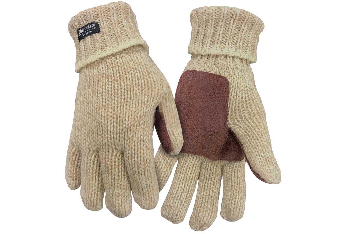 North Star Fur Men's Rag Wool Gloves