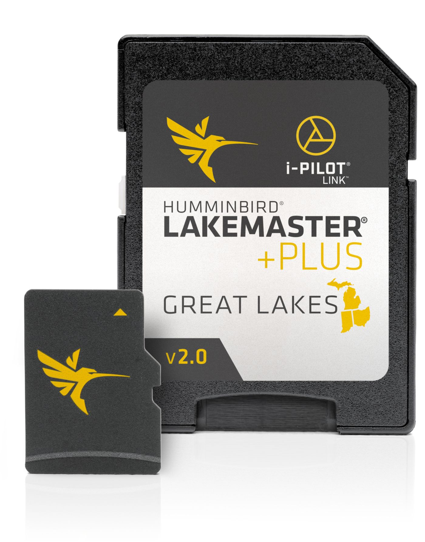 Humminbird LakeMaster PLUS Great Lakes V2 Map Card