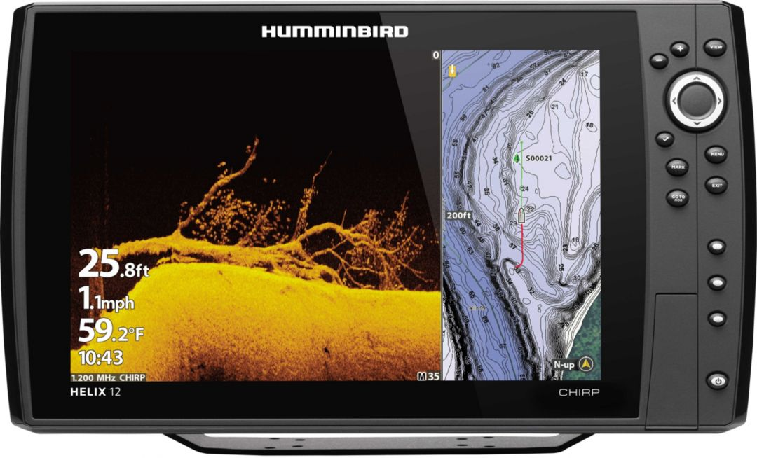 Humminbird Helix 12 CHIRP MEGA DI+ G3N GPS Fish Finder (410910-1)