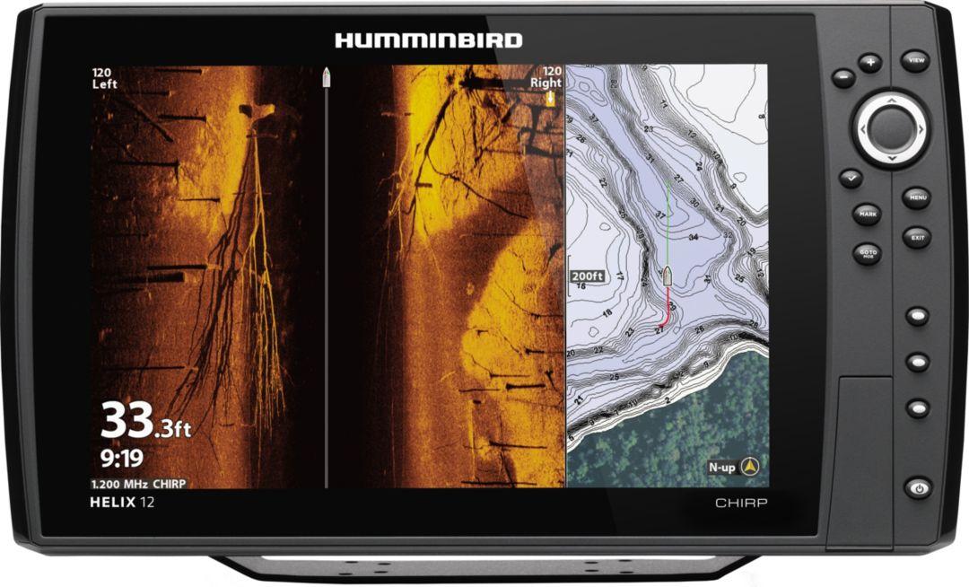 Humminbird Helix 12 CHIRP MEGA SI+ G3N GPS Fish Finder (410920-1)