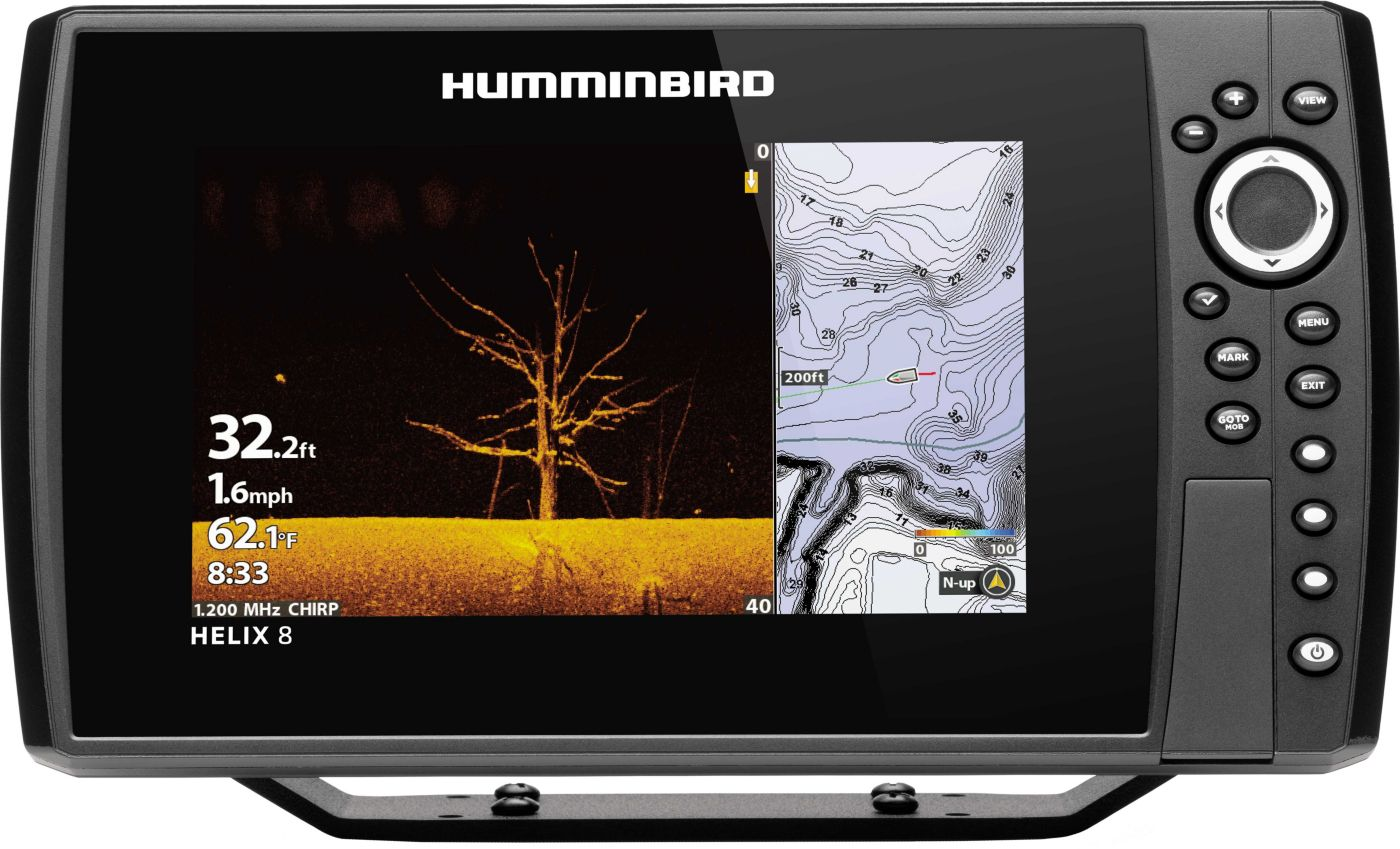 Humminbird Helix 8 CHIRP MEGA DI G3N GPS Fish Finder (410820-1)