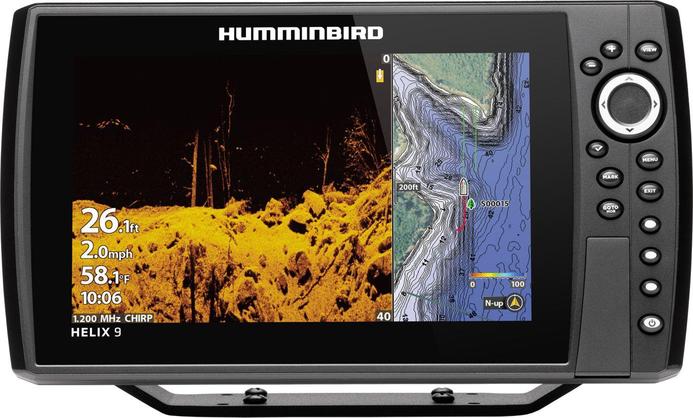 Humminbird Helix 9 CHIRP MEGA DI+ G3N GPS Fish Finder (410850-1)