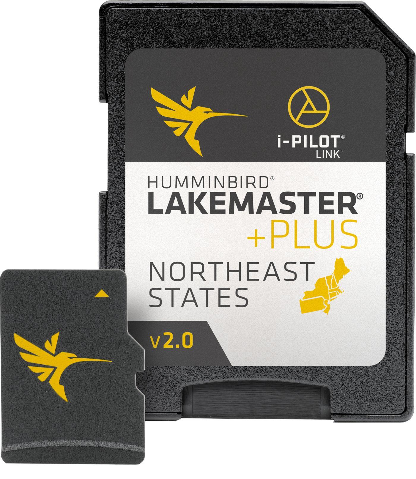 Humminbird LakeMaster Northeast States V2 Map Card