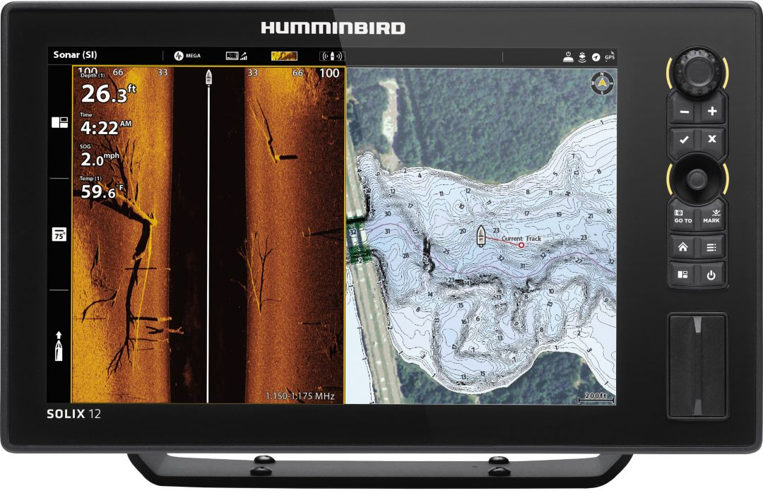 Humminbird Solix 12 SI+ G2 GPS Fish Finder (411030-1)