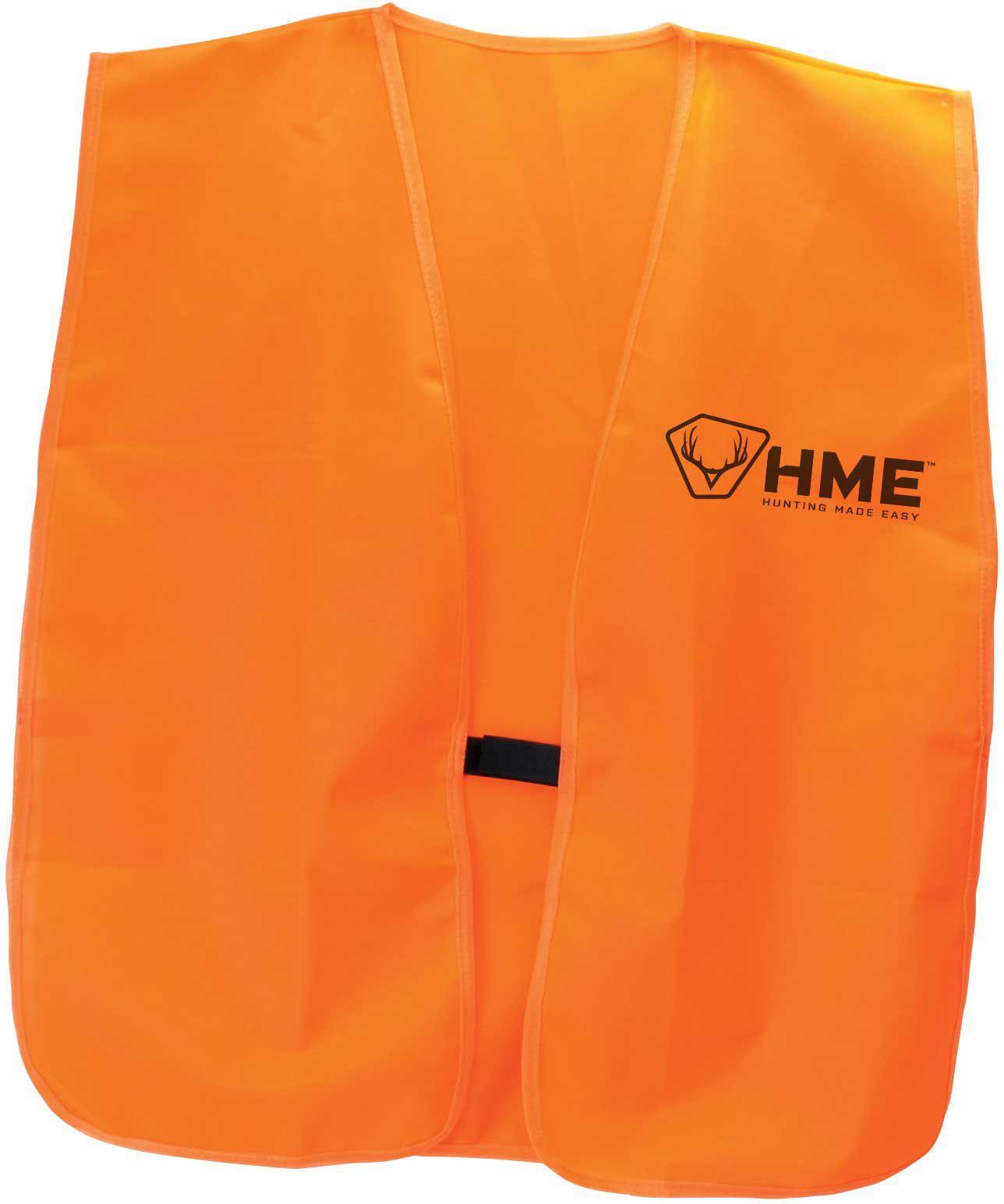 HME Orange Safety Vest, Men's