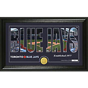 Highland Mint Toronto Blue Jays Silhouette Panoramic Bronze Coin Photo Mint