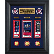 Highland Mint 2019 World Series Champions Washington Nationals Deluxe Gold Coin and Ticket Collection